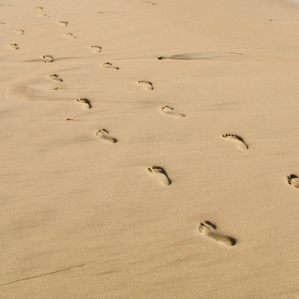 Amazing Footprints In The Sand Wall Art Mold - Art & Wall Decor ...